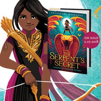 Sayantani DasGupta children's book author The Serpent's Secret